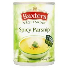 Baxters Vegetarian Spicy Parsnip Soup 400g