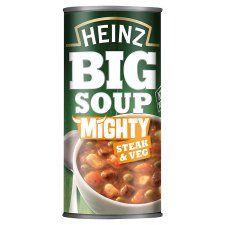 Heinz Big Mighty Steak & Vegetable Soup 500g
