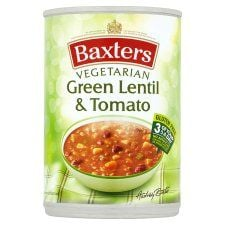 Baxters Vegetarian Green Lentil and Tomato Soup 400g