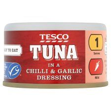 Tesco Tuna In Chilli and Garlic Dressing 80g