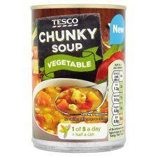 Tesco Chunky Winter Vegetable Soup 400g
