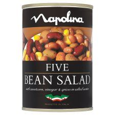 Napolina Five Bean Salad In Water 400g