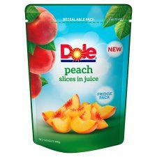 Dole Peach Slices In Juice 400g
