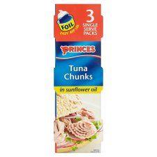 Princes Tuna Chunks In Sunflower Oil 3 X 80g