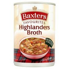 Baxters Favourites Highlander Broth Soup 400g