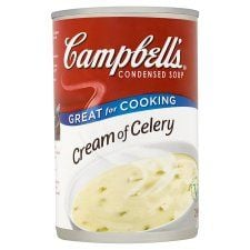 Campbells Cream of Celery Condensed Soup 295g
