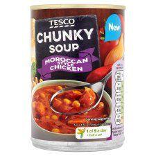 Tesco Chunky Moroccan Soup 400g