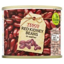 Tesco Red Kidney Beans In Water 210g
