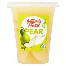 Nature's Finest Pear In Juice 400g