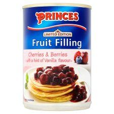 Princes Cherries and Berries With Vanilla 410g