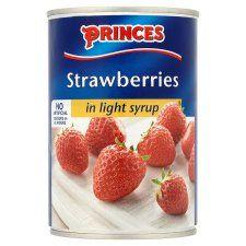 Princes Strawberries Light Syrup 420g