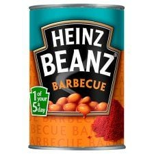 Heinz Baked Beans In BBQ Sauce 390g