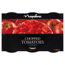 Napolina Chopped Tomatoes 6 X400g