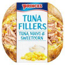 Princes Tuna Fillers Tuna Mayonnaise Sweetcorn 100g