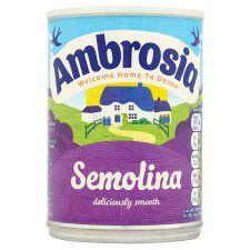 Ambrosia Creamed Semolina 400g Tin