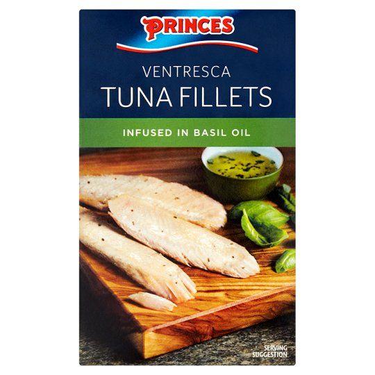 Princes Tuna Fillets In Basil Oil 111g