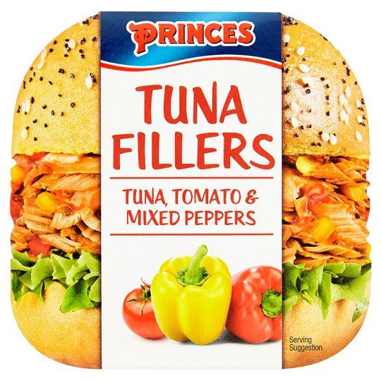 Princes Tuna Fillers Tomato and Mix Peppers 100g