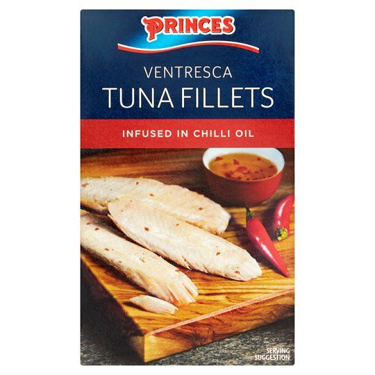 Princes Tuna Fillets In Chilli Oil 111g