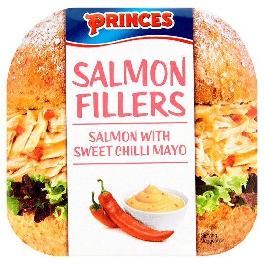 Princes Salmon Fillers With Chilli Mayonnaise 100g