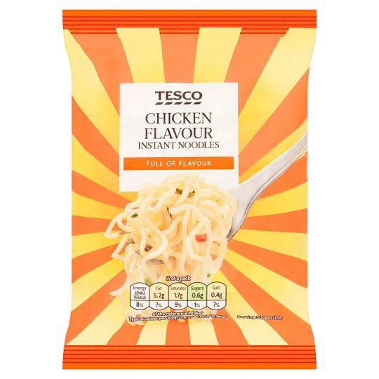Tesco Instant Chicken Noodles 85g
