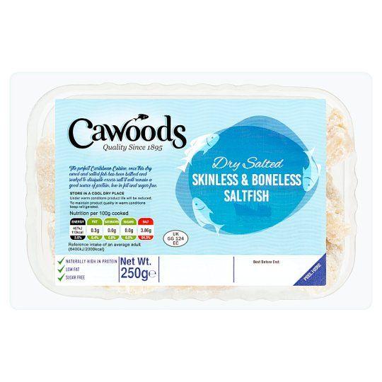 Cawoods Skinless and Boneless Fish 250g