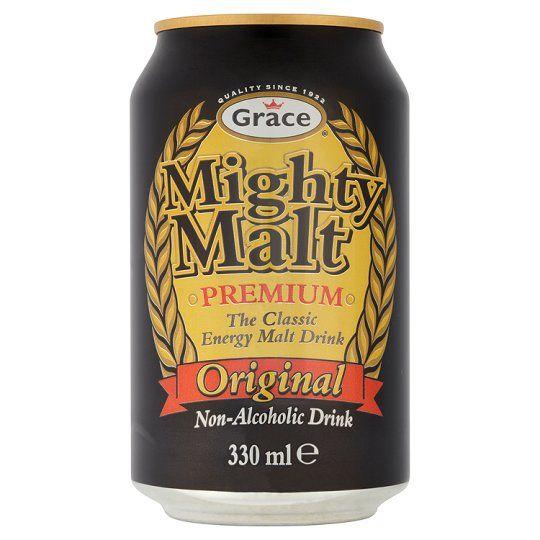 Grace Mighty Malt Drink Can 330ml