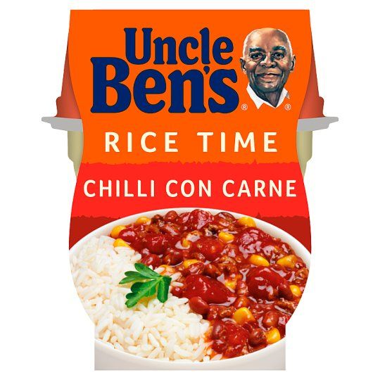 Uncle Bens Rice Time Chilli Con Carne 300g