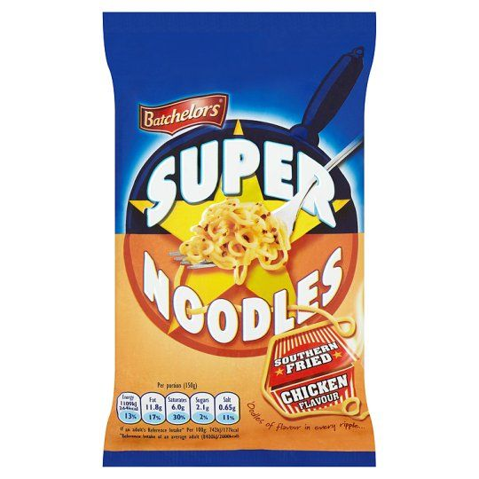 Batchelors Super Noodles Southern Fried Chicken 100g