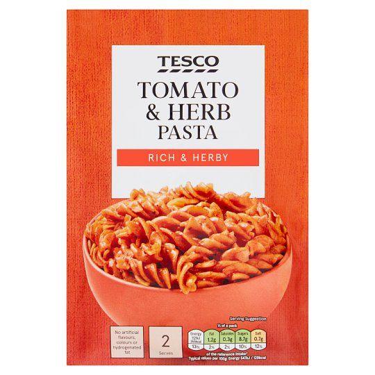 Tesco Pasta Tomato & Herb 120g
