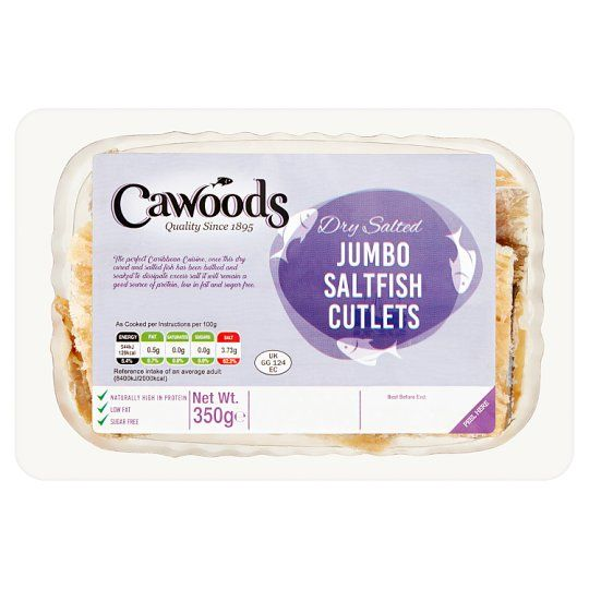 Cawoods Jumbo Saltfish Cutlets 350g