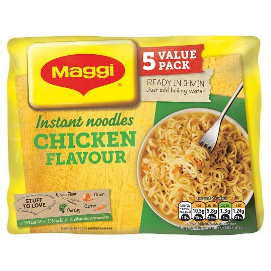 Maggi Noodles Chicken 5 Pack 59g