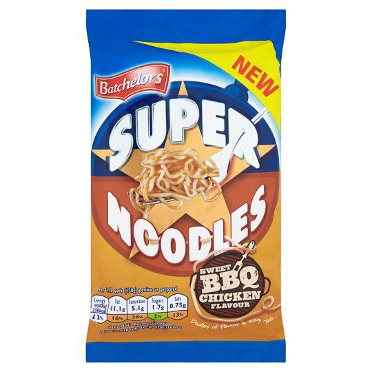 Batchelors Super Noodles BBQ Chicken 100g
