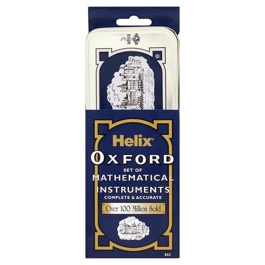 Oxford Maths Set In Tin