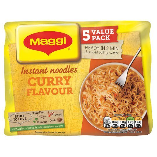 Maggi Curry Noodles 5X59g