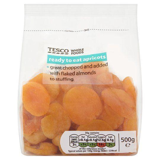 Tesco Wholefood Apricots 500g