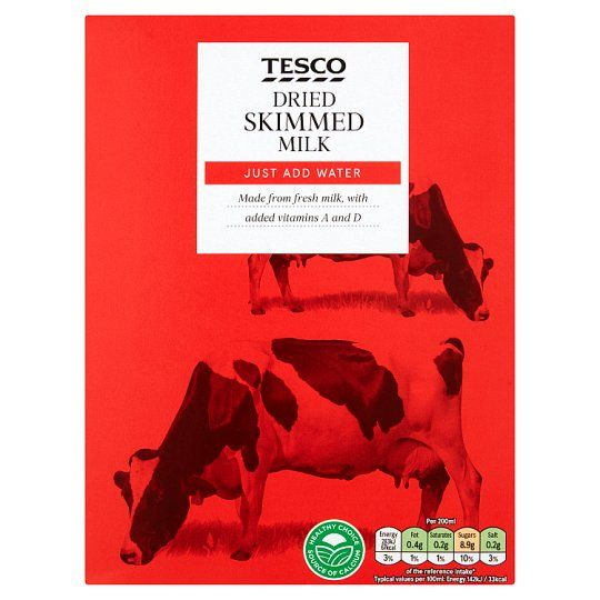 Tesco Instant Dried Skimmed Milk 340g