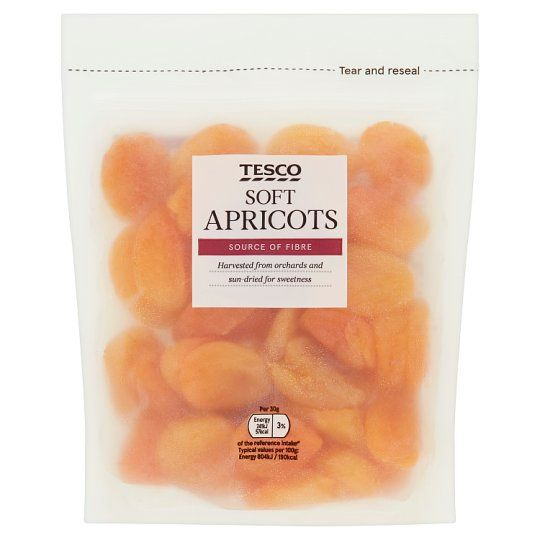 Tesco Ready To Eat Apricots 250g