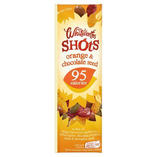 Whitworths Orange Chocolate Seed Shot 25g