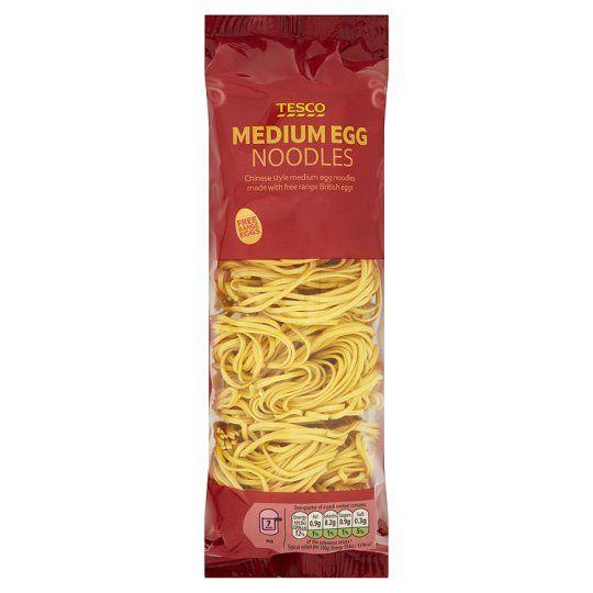 Tesco Medium Egg Noodles 250g