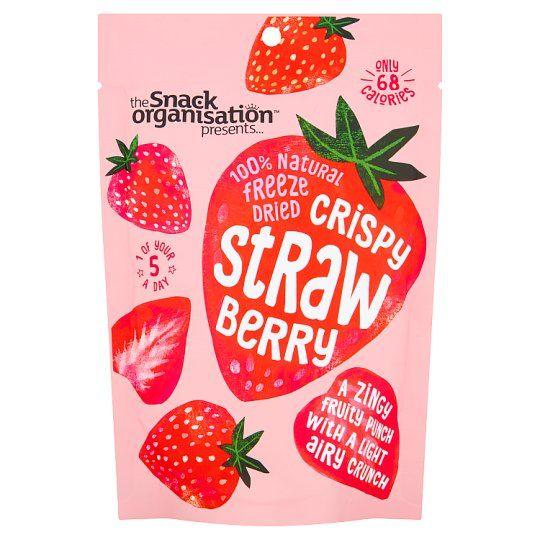 Snack Organisation Dry Strawberry 18g