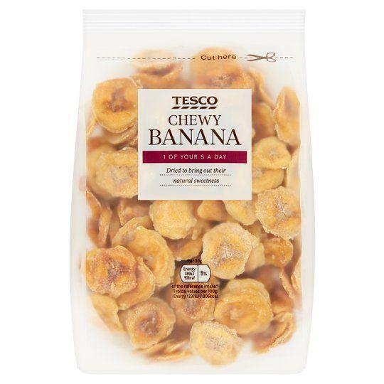 Tesco Chewy Banana 300g
