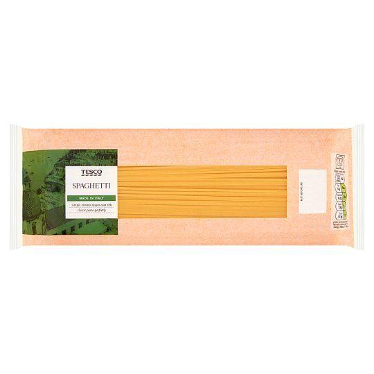 Tesco Spaghetti Pasta 1kg