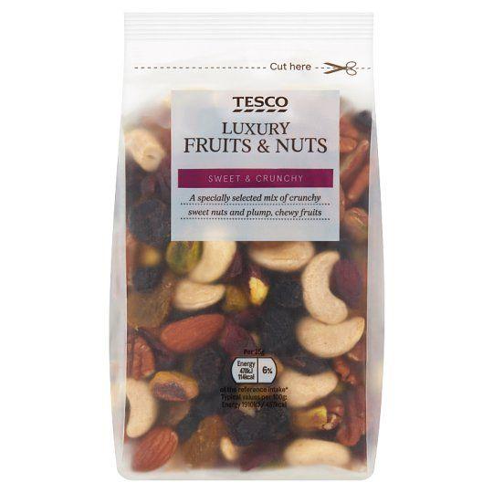 Tesco Wholefood Luxury Fruit & Nut Mix 300g