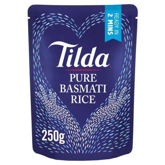 Tilda Pure Steamed Basmati Rice Classic 250g