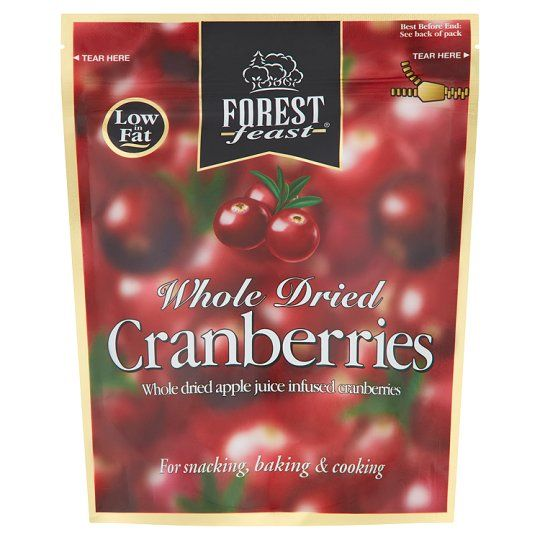 Forest Feast Whole Dried Cranberries 200g