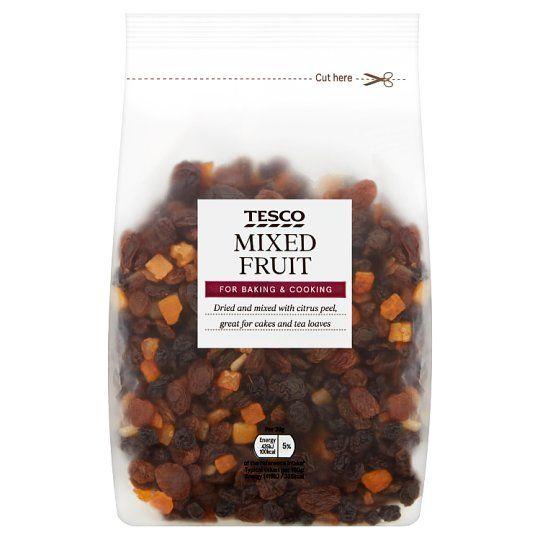 Tesco Dried Mixed Fruit 500g