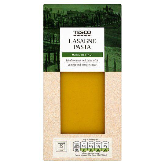 Tesco Lasagne Pasta 500g
