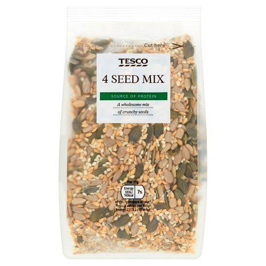 Tesco Wholefoods 4 Seed Mix 300g
