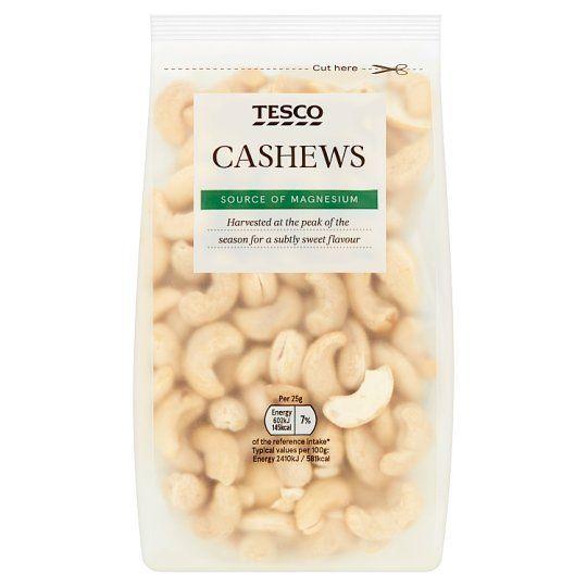 Tesco Cashew Nuts 250g