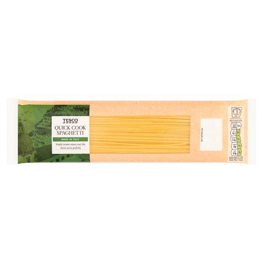 Tesco Quick Cook Spaghetti Pasta 500g